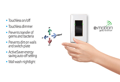 E Motion Gesture Control Switch