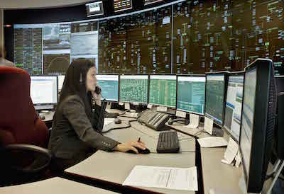 IESO's system control room