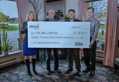 Retirement Residence's Energy Conservation Efforts Earn a Hefty Rebate