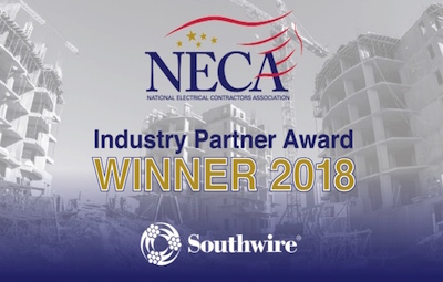 logo for NECA Industry Partner award