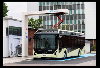 ABB and Nova Bus to Create Electric Bus Charger System in North America