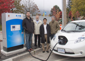 BC Hydro Debuts Canada's First Fast Charger Network