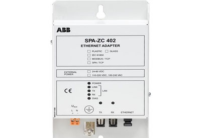 ABB SPA-ZC 402 – Ethernet & IEC 61850 adapter
