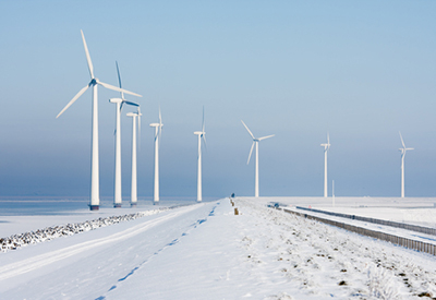 Wind Turbines Ice