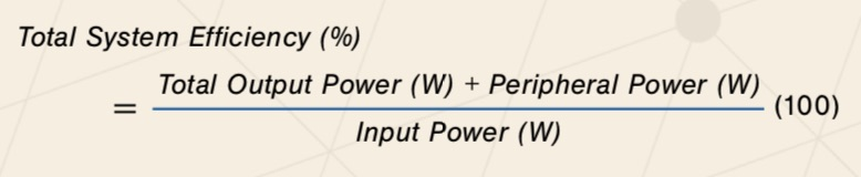 DC Lighting Equation 1