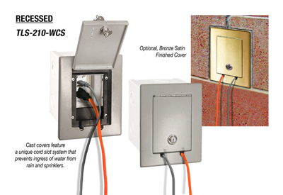 Cole Lighting TL210-WCS Series Plugging Boxes