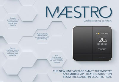 Stelpro Joins Forces with Three IoT Leaders to Develop Maestro – Smart Thermostats