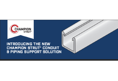 Champion Strut Conduit and Pipe Support