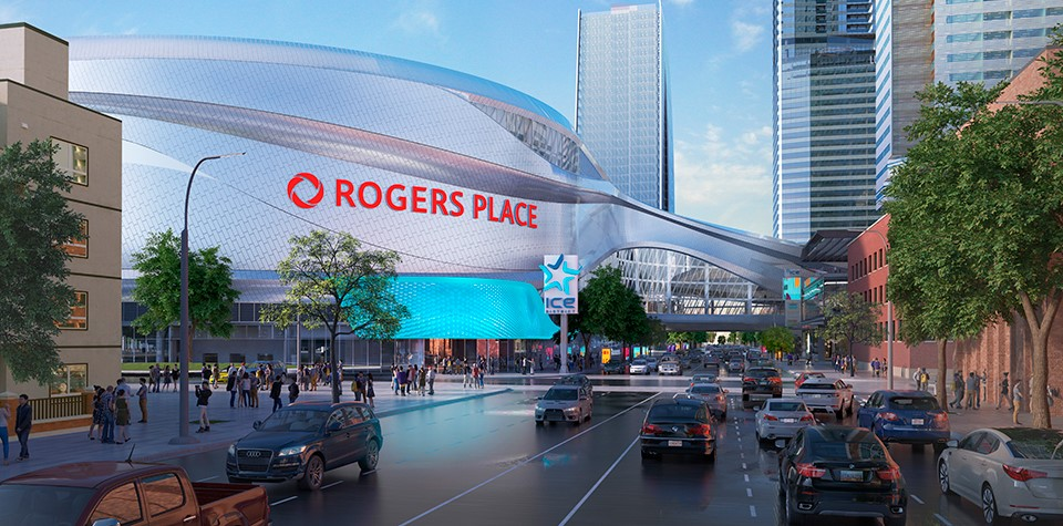 Rogers Place 3 Image Courtesy of Ice District JV