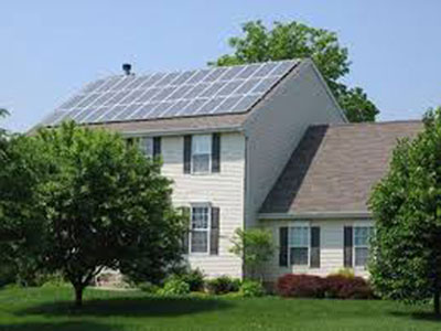 Solar Pannel On Homes